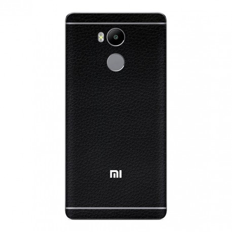 Skin Premium Xiaomi Redmi 4 Prime - 3M Black Leather